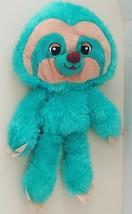 """Goffa Sloth Plush Stuffed Animal Toy Teal Green Beige Soft Fluffy Cute 18"""" - $19.25"""