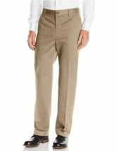 Dockers Men's D3 Comfort Waistband Classic-Fit Flat-Front Pant Khaki 30x32 - $24.74