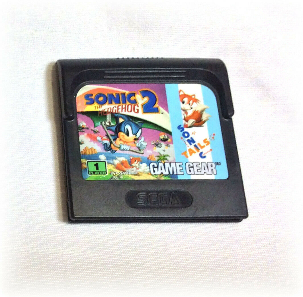 Sonic the Hedgehog 2 (Sega Game Gear, 1992) VIDEO GAME CARTRIDGE only