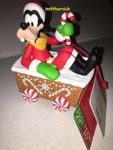 Hallmark 2016 Wireless Disney Christmas Express Goofy - $69.99
