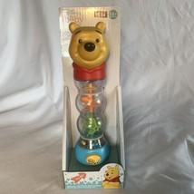 Disney Baby Winnie the Pooh Infant Rainmaker Light Sounds of Rain Rattle... - $10.39