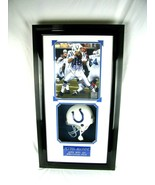 Peyton Manning Colts Signed 15x27 Super Bowl XLI Framed Shadowbox COA Ar... - $1,237.50