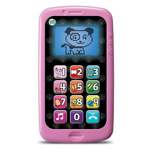 LeapFrog Chat Count Cell Phone Pink Black