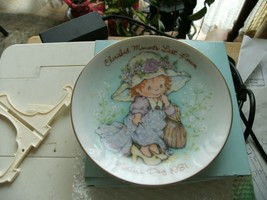16#B   Vintage Avon CHERISHED MOMENTS LAST FOREVER Mothers Day Plate 1981 - $7.91