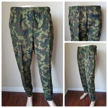 FILA Sport Fleece 2.0 Woodland Camo Drawstring Joggers Sweatpants Lounge... - $33.62