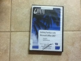 Getting Familiar with Microsoft Office 2007, DVD - $19.79