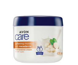 AVON Care Softening Multi-purpose Cream with Macadamia 400 ml New Rare - $19.99