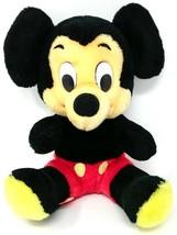 Disney Mickey Mouse Plush Stuffed Toy Made In Korea VTG - $14.01