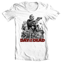Day of the Dead T-shirt Free Shipping retro horror movie 100% cotton graphic tee image 1