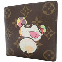 LOUIS VUITTON Portofeuil Marco Wallet Takashi Murakami M61666 Used Excel... - $749.05