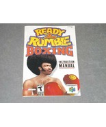 Nintendo 64 N64: Ready 2 Rumble Boxing [Instruction Book Manual ONLY] - $5.00