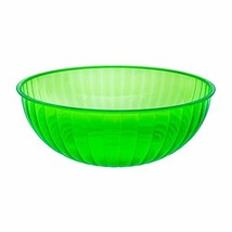 Party Essentials Hard Plastic 192-Ounce Serving Bowl, (192-Ounce|Neon Gr... - $24.09