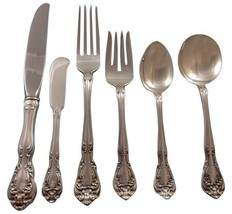 Chateau Rose by Alvin Sterling Silver Flatware Set For 8 Service 53 Pieces - $2,250.00