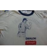 Vintage New York Yankees 1983 BILLY MARTIN RARE ringer T Shirt Adult size M - $79.04