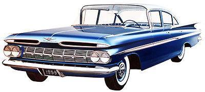 Primary image for 1959 Chevrolet - Promotional Advertising Poster