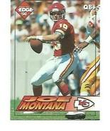 1994 Collectors Edge #94 Joe Montana KC Chiefs  NM/MINT - $1.29