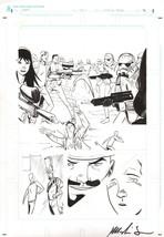 Marlin Shoop Original Art Dark Horse Comics Larp! Last Star Wars ~ Stormtroopers - $98.99