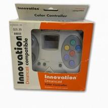 Sega Dreamcast Innovation Color CONTROLLER Joystick Arcade Turbo Slow Mo... - $19.79