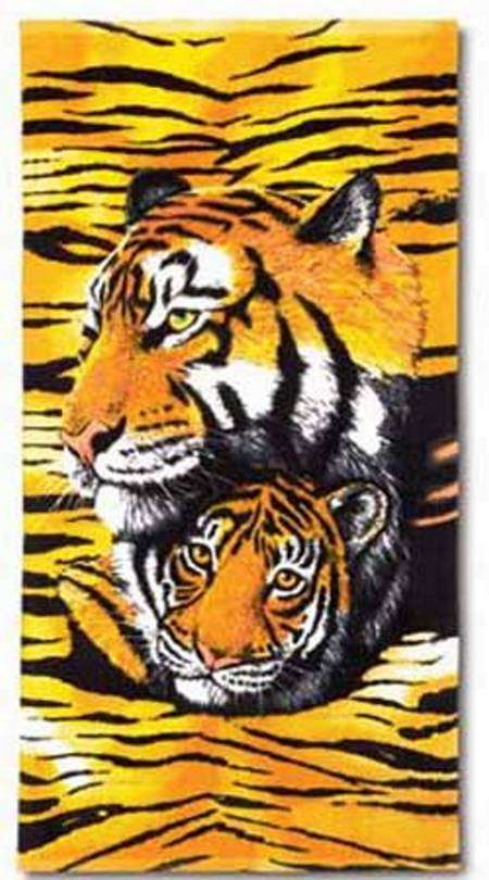 38456 SOLD OUT Golden Tigers Beach Towel~FS