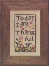 Thankful cross stitch chart Heart in Hand - $7.65