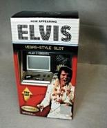 ELVIS PRESLEY SLOT MACHINE BANK RADICA , MINT IN BOX - $39.99