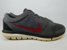 Nike Flex Run 2015 Size US 9.5 M (D) EU 43 Men's Running Shoes Grey 709022-002