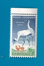 Scott  #1098 US Stamp 1957 3c Wildlife Conservation - Whooping Cranes MNH  - $2.99