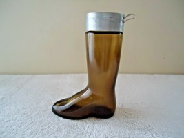 "Vintage Avon Brown Glass Boot Decanter / Bottle "" BEAUTIFUL COLLECTIBLE ... - $19.99"