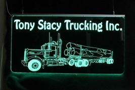 Custom Logging Truck Sign, Garage Sign,  Man Cave Sign image 2