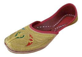 Women Shoes Jutti Indian Casual Handmade Leather Flip Flops Flat US 9.5  - $29.99