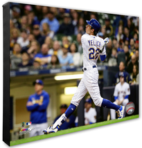 Christian Yelich 2019 Milwaukee Brewers #22 -16x20 Photo on Stretched Canvas - $89.99