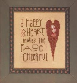 Primary image for Happy Heart cross stitch chart Heart in Hand