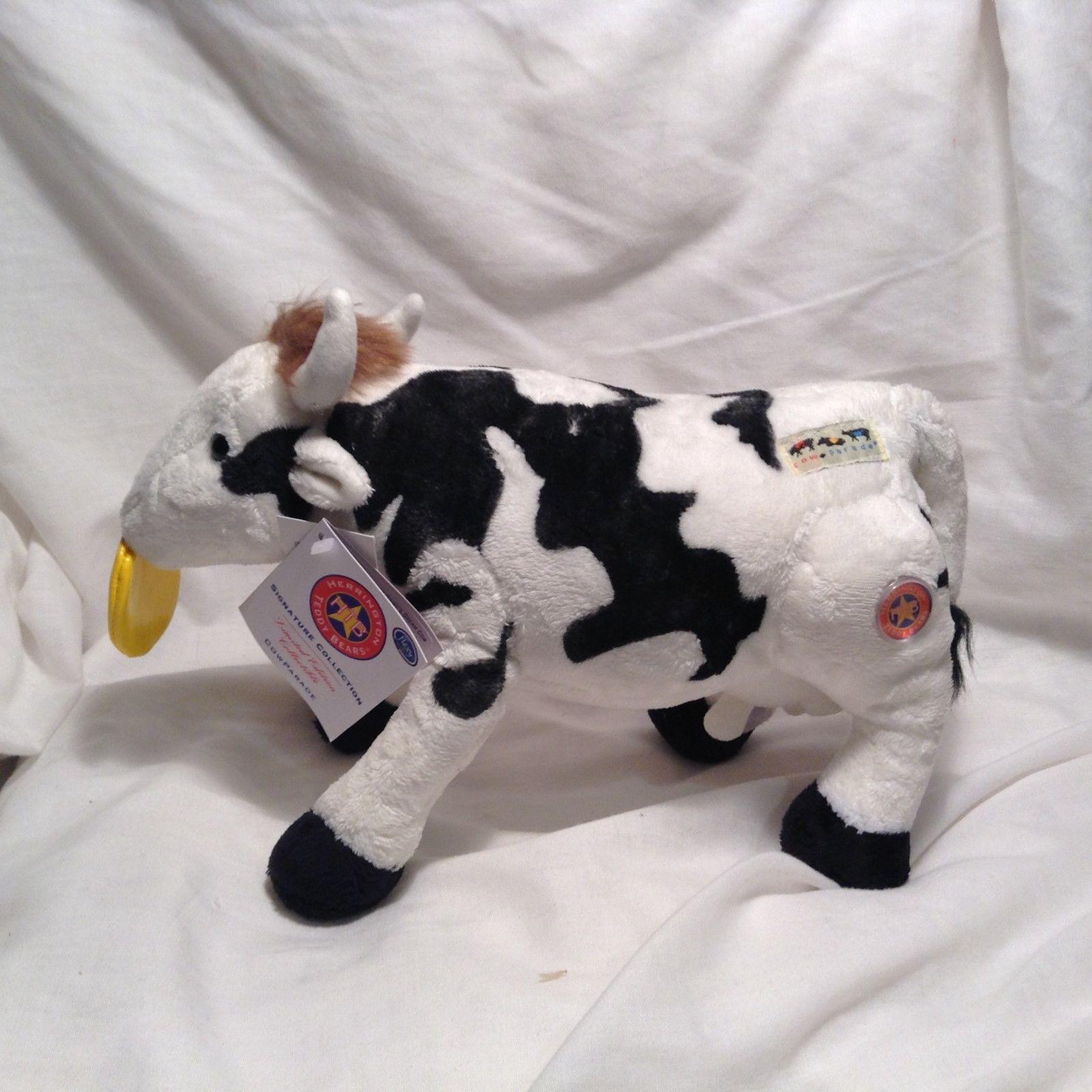 NEW Herrington Teddy Bear Limited Edition 'Daisy Dream Cow' Stuffed Animal