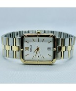 Vintage Pulsar V732-X067 Two Tone Men's Date Watch - $28.93