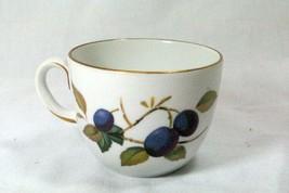 Royal Worcester Evesham Gold Flat Cup - $3.77