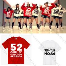 KPOP Girls' Generation T-shirt Tshirt SNSD Tee TaeYeon Yoona Unisex Cotton - $12.07