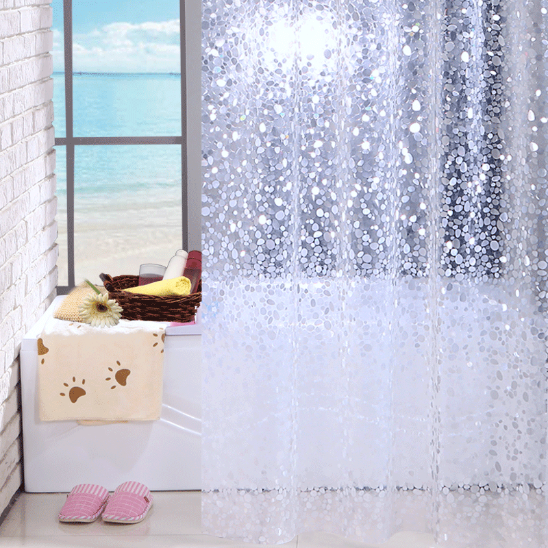 Primary image for Stone pattern shower curtains bath curtain bathroom waterproof Shower Curtain Ba