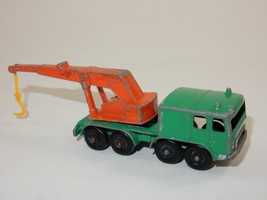 Lesney Matchbox Series No.30 8 Wheel Crane Diecast - $9.49