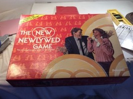 Retro The New Newlywed Game 1986 Pressman Chuck Parris Productions Complete - $15.84