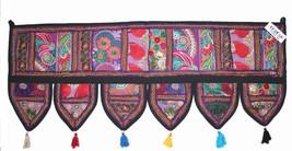 Handmade Ethnic Home Decor Toran Tapestry Embroidered Garland Door Hangi... - $16.36