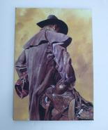 Drifter (Western) Canvas Wrapped Art by Bob Child, 11 3/4x16 3/4, New - $40.00