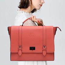 Laptop Briefcase for Women 15.6 Inch Business Computer Bag Satchel Bag Laptop Me image 2