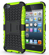Ard soft rubber hybrid case cover for apple ipod touch 6th gen green p20151206153042514 thumb200