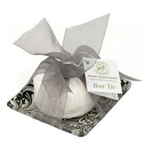 Michel Design Works Honey Almond Glass Soap Dish & Set Bow Tie - $16.50