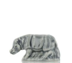 Whimsies Wade England Miniature American Series Gray Rhino