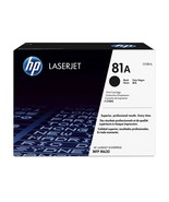 HP 81A Black Original LaserJet Toner Cartridge (CF281A) Yield 10,500 - $196.96