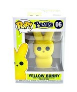 Funko Pop! Peeps Yellow Bunny #06 Easter Candy Theme Vinyl Action Figure - $12.66