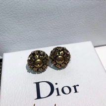 Authentic Christian Dior 2019 CRYSTAL STAR BEADS Double Pearl Tribales Earrings image 15