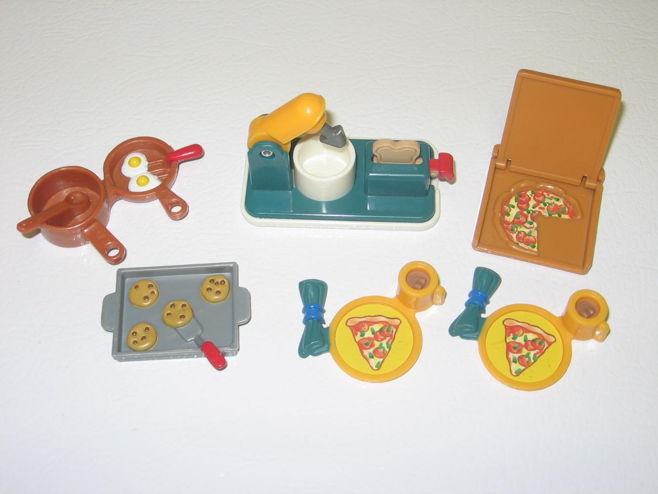Fisher Price Loving Family 1999 Cooking Fun Play Set w/ Mixer Toaster - $23.99