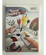 Game Party 2 (Nintendo Wii, 2008) Complete w/ Manual  NEW FACTORY SEALED - $13.37